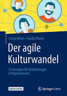 Buchtitel, Svenja Hofert, Claudia Thonet, Der agile Kulturwandel