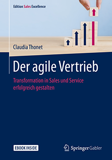 Claudia Thonet: Der agile Vertrieb, Bich, Springer Gabler, 2020