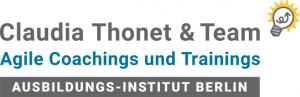 Claudia Thonet & Team, Agile Coachings und Trainings, Ausbildungs-Institut Berlin, Logo