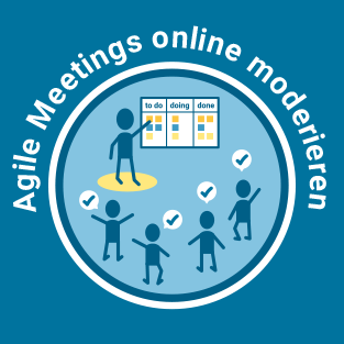 Agile Meetings online moderieren, Online-Kurs, Claudia Thonet & Team, Icon