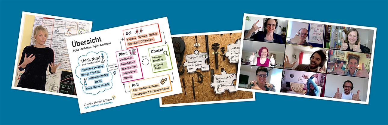 Online-Workshop: Agile Methoden kompakt, Claudia Thonet & Team