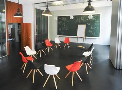 Workshopraum bei Meeet