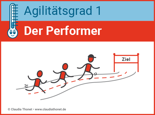 Agilitätsgrad 1, Führungstyp der Performer