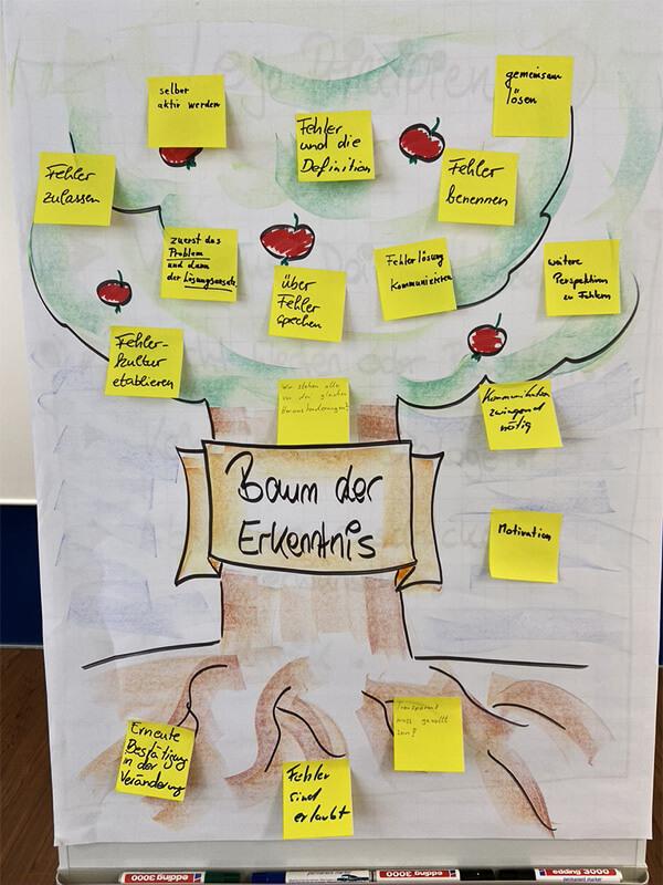 Baum der Erkenntnis, Check-out
