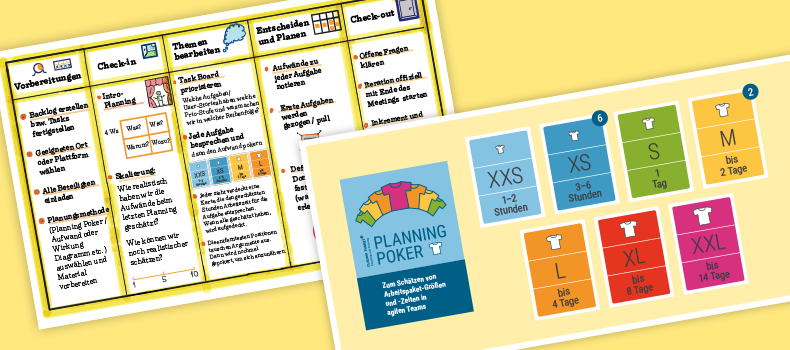 Planning Meeting, Planning Poker, Collage